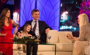 Susana hizo emocionar al presidente Mauricio Macri
