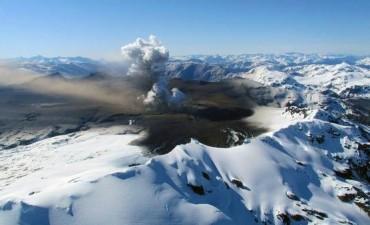Alerta amarillo en la Patagonia por el volcán chileno Hudson