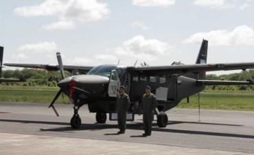 Arribaron al país dos nuevos aviones para el Ejército