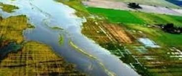 """Aseguran que el Río Salado """"está en un pico importante de crecida"""""""