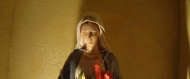 Entronización de la imagen de la Virgen de la Medalla Milagrosa