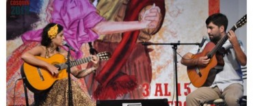 Angie Chamosa y Tito Videla en el escenario mayor de Cosquin ésta noche desde las 21:30 hs