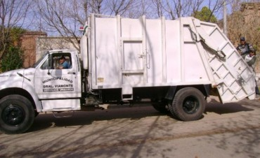Recolección residuos domiciliarios