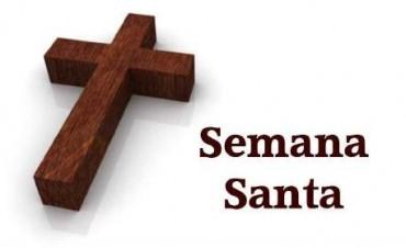 Cronograma de actividades de Semana Santa en la Parroquia