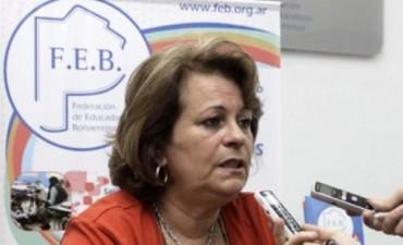 Bienvenida Mirta Petroccini a Los Toldos!