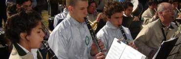 Convocatoria para ingresar a la banda de Música