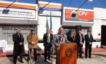 El Ministro de Justicia y Seguridad Dr. Ricardo Casal, estuvo en Los Toldos