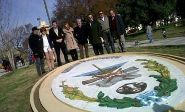 El vicegobernador Gabriel Mariotto, visitó Los Toldos