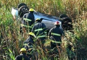 CHIVILCOY: Su auto volcó en la ruta, pero apareció muerto en su casa