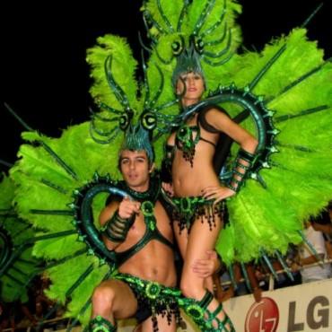 Gualeguaychú desplegó toda la fiesta de las comparsas