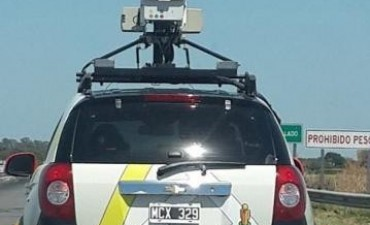 Los autos de Google por la zona