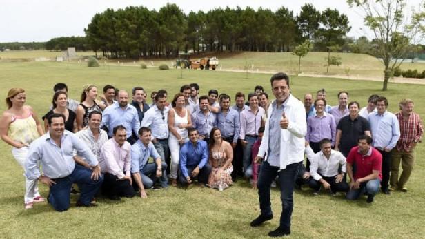 Massa reunió a los sub 45 del Frente Renovador a nivel nacional en Pinamar