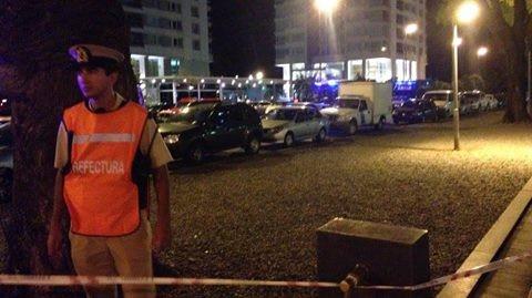 Crónica de una noche de estupor y conmoción en Puerto Madero
