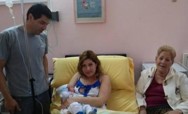 El primer bebè del 2015