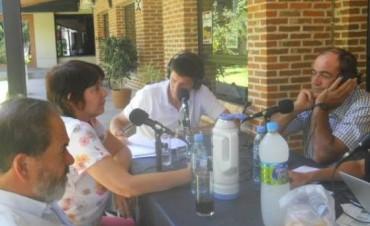 Productores de la regiòn detallaron su situación hidrica en Radio Colonia, para el programa