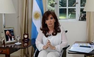 La Presidenta volvió a sugerir que fue un crimen y apuntó a Lagomarsino