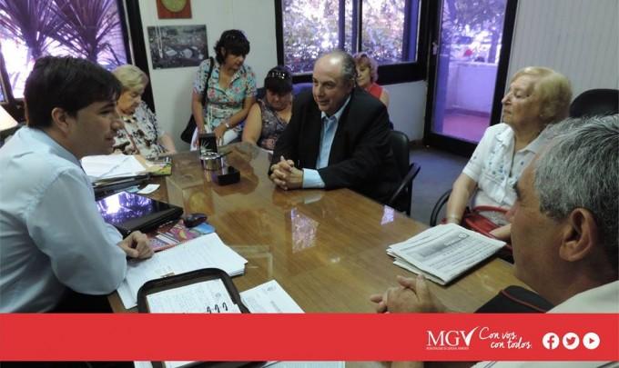 Se reùne el intendente local con la gente del Rotary