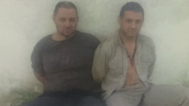 Lanatta y Schillaci detenidos: la imagen que confirma la detención