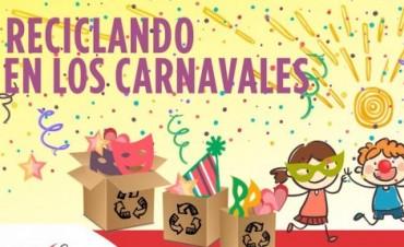 Reciclando en carnaval