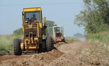Mantenimiento y reconstrucción del camino alternativo a B.P. actual Estancia Caribea