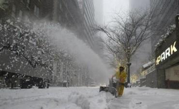 Tormenta de nieve: declaran emergencia en el este de EE.UU.