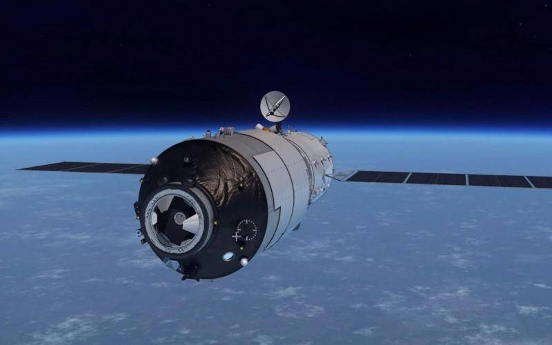 Terror en el espacio: una estación espacial china se precipita hacia la Tierra