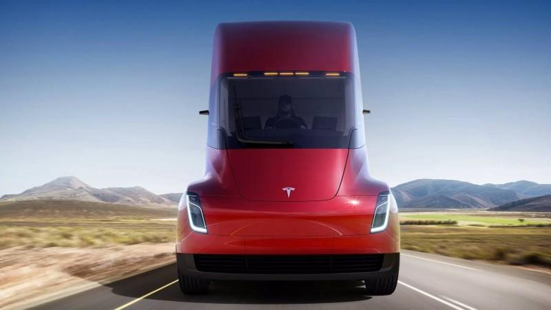 Tesla Semi, el camión eléctrico para los transportes