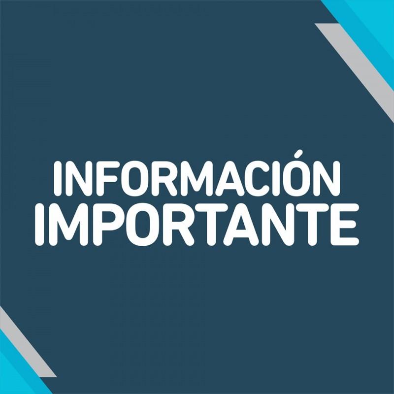Informacion importante para los ciudadanos