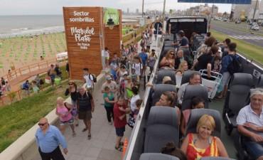 Mar del Plata te hace feliz: abrieron las playas de la Provincia   con una gran afluencia de público