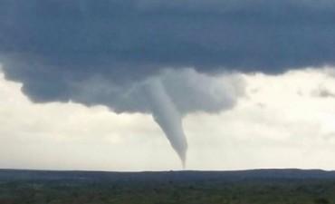 La ''cola de un tornado'' azotó el noreste de San Luis