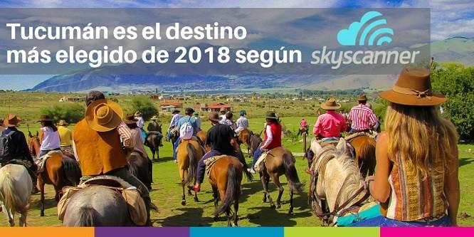 Tucumán es el destino argentino que más creció en el año 2018