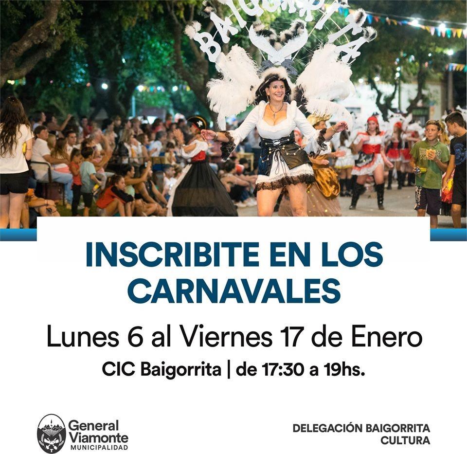 BAIGORRITA: Ya está abierta la inscripción para el carnaval más popular