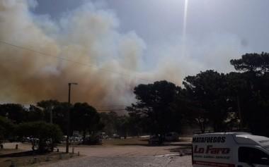 Incendio en Villa Gesell: el intendente Barrera confirmó que