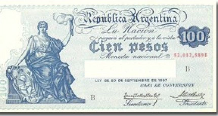 Hace 50 años terminó de regir el Peso Moneda Nacional