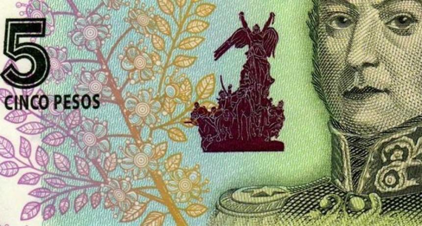 Salen de circulación: queda un mes para cambiar los billetes de $5