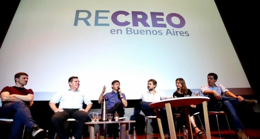 Kicillof presentó ReCreo en Mar del Plata y celebró el buen arranque de la temporada de verano