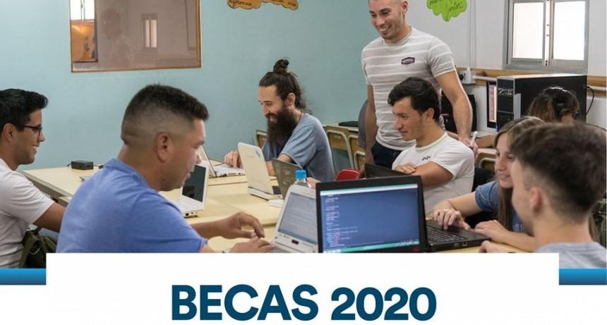 Abre la inscripción para las becas municipales 2020