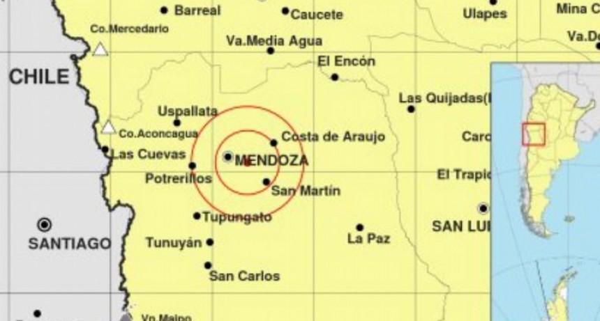 Cinco sismos volvieron a sacudir Mendoza