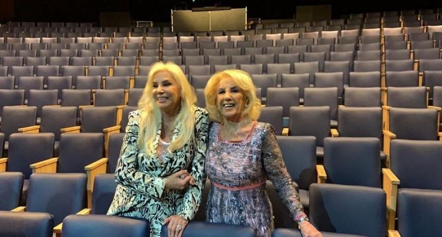 Una joya en Mar del Plata  Mirtha y Susana, en la reapertura del Teatro Tronador