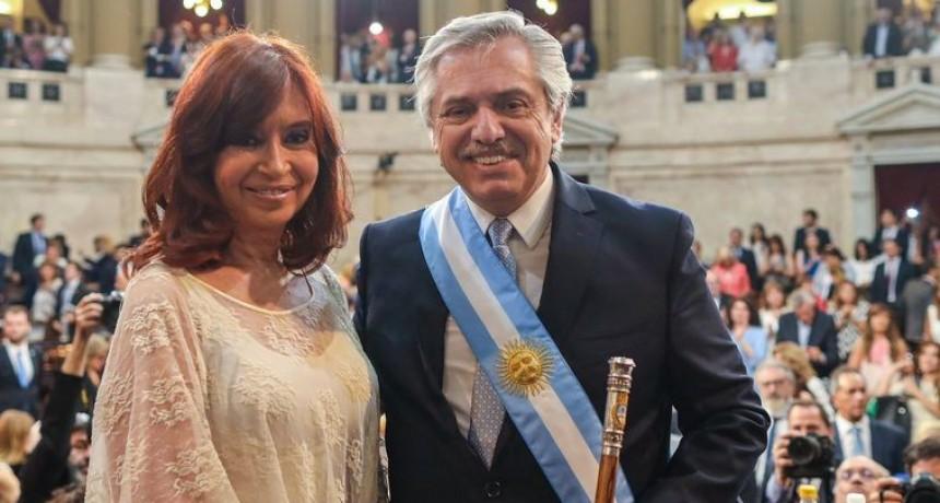 Por el viaje de Alberto, CFK queda a cargo de la presidencia