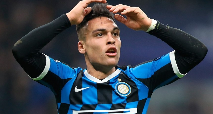Lautaro: gol y expulsión en el empate de Inter ante Cagliari
