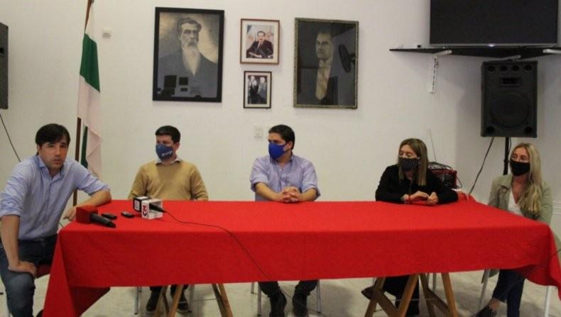 Dirigentes de la 4° sección de Evolución Radical se reunieron en 9 de Julio y pidieron por un rol