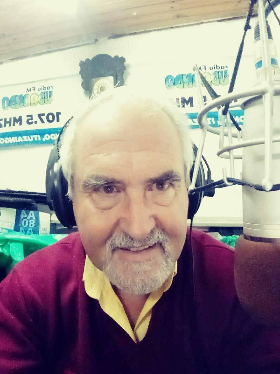 WALTER OGANDO en FM RADIO UDANDO| Soy agradecido por el momento que vivo y ésta nominación se la dedico a la gente de Los Toldos