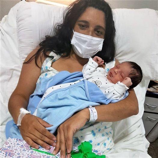 El primer bebé del año 2021 nacido en el Hospital Local