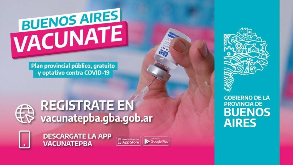 La aplicación vacunatePBA ya está disponible para todos los celulares