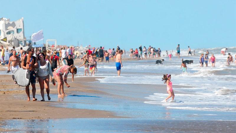 Corriente cálida en la Costa: la temperatura del mar superó los 24°C en Mar del Plata