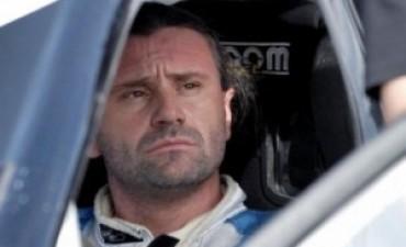 El automovilista Marcos Di Palma se accidentó en una ruta de Arrecifes