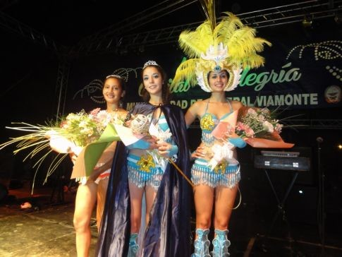 María Sol, es la nueva soberana del carnaval