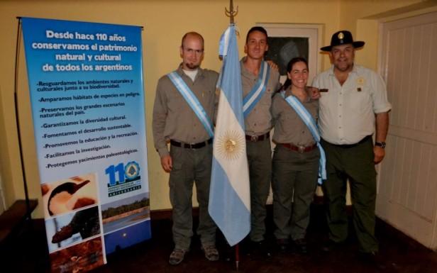 Nuevas designaciones de Guardaparques en Parques Nacionales
