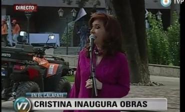 Cristina desde Calafate: